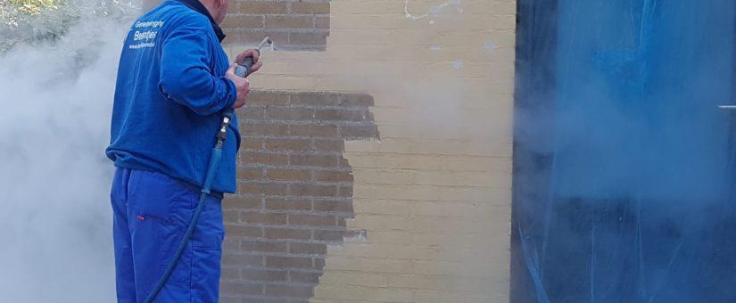 Nico Beentjes – Verf verwijderen van gevel
