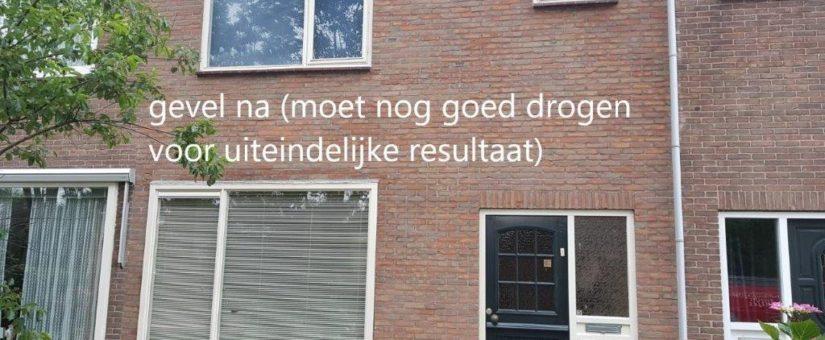 Gevelrenovatie Den Helder door Gevelreiniging Beentjes